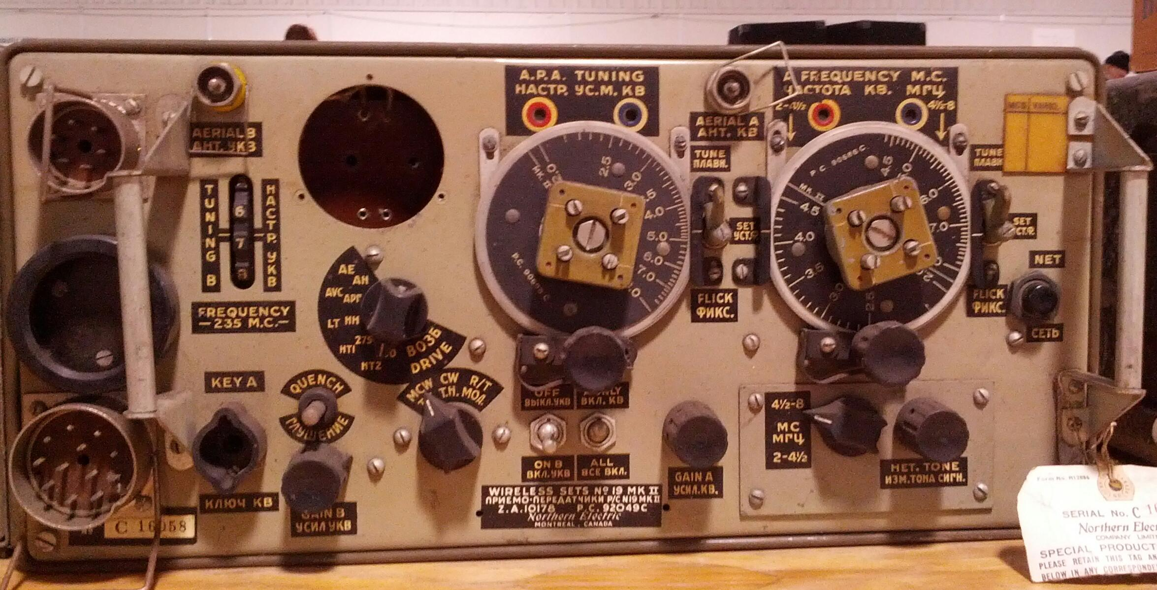 """I came across this """"Number 19 Set"""" up for sale at """"Hamex"""", the annual amateur  radio fleamarket sponsored by the Mississauga and Peel Amateur Radio clubs  ..."""